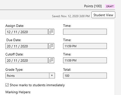 UX Wireframes for Online Education Assignment