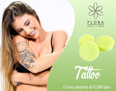 Midia Social Tattoo Flora