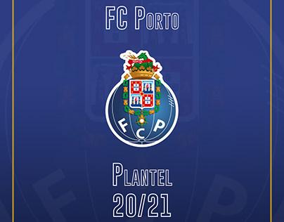 FC Porto 20/21 Roster/Plantel