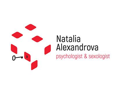 Natalia Alexandrova logo design