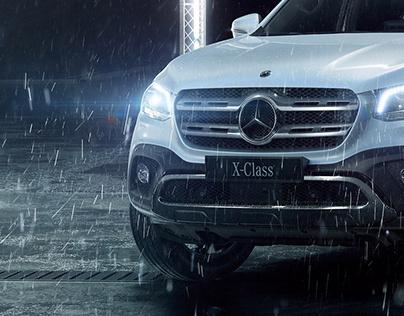 Mercedes 'X-Class' CGI