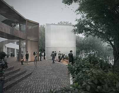 Music Building competition - MOBO Architects