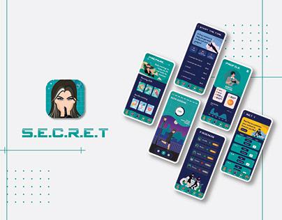 S.E.C.R.E.T app— UX case study