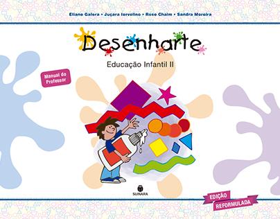 Projeto gráfico/Diagramação - Coleção Desenharte Ed Inf