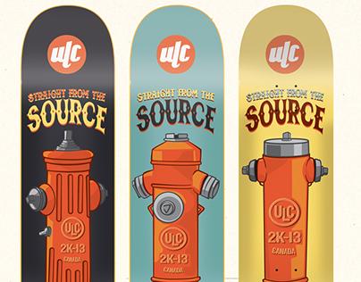ULC Skateboards Spring 2013