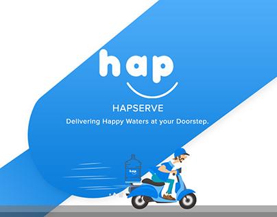 Hapserve Mobile App - UI Design