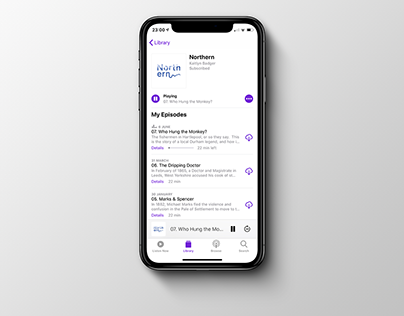 Northern Podcast // Brand Design