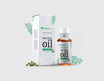 Organic Crowd Oil Product packaging