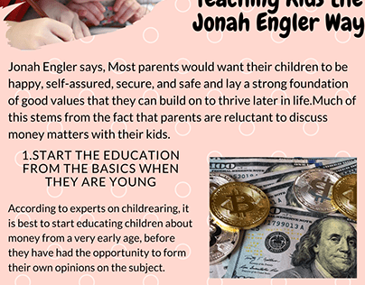 2020 Infographic by Jonah Engler Good Money Habits