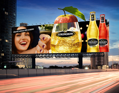 Strongbow outdoor campaign