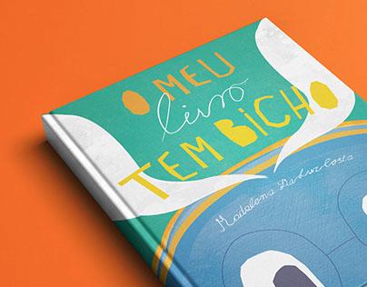 O meu livro tem bicho / childrens' book illustration