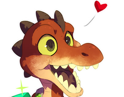Lil' Croc | Commissioned Artwork
