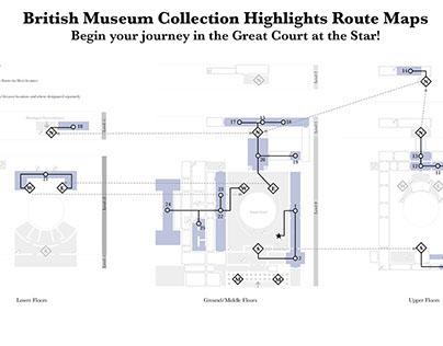 Tour Map of British Museum