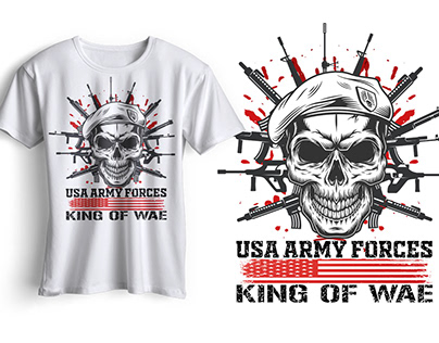 Army T-shirt Design