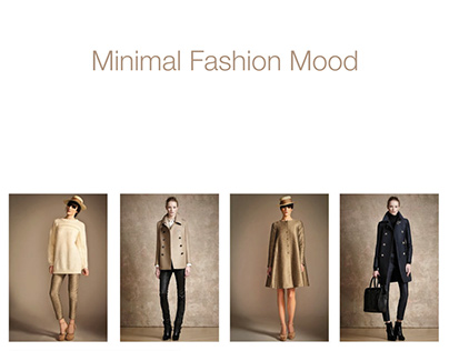 Minimal Fashion Mood