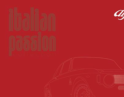 """Italian Passion"" - Vector Art/Linework/Poster design"
