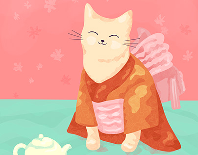 Animals in Kimonos