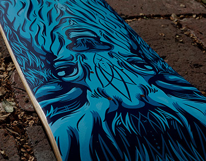 The Hunter Skatedeck Design