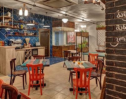 Small Georgian Cafe - renovation project
