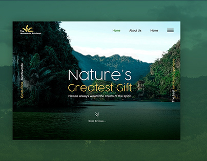 A Booking Site - For the world's best rainforests