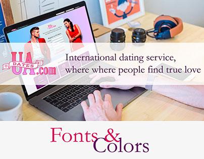 UaDates web site