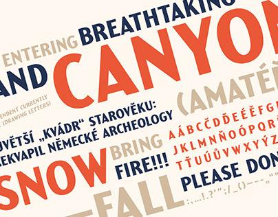 Yellowstone Typeface