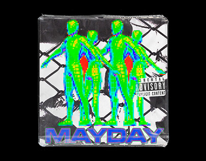 MAYDAY - CHASE B + SHECK WES GRAPHIC COVER ARTWORK #!