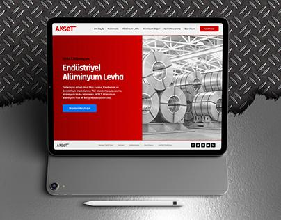 Aluminium Company Website Design
