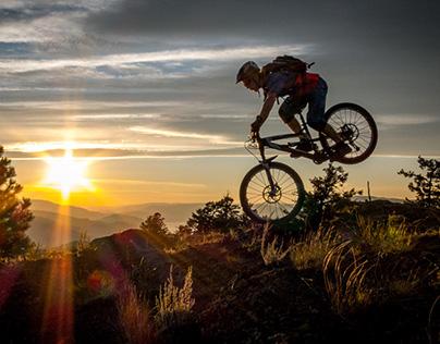 Biking in BC