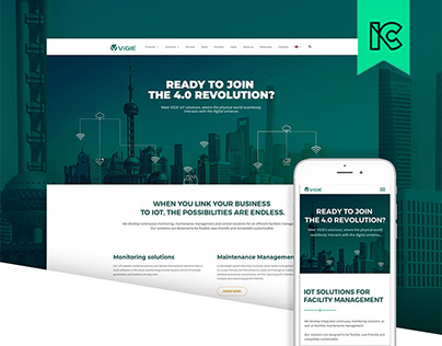 ViGIE Solutions - Website