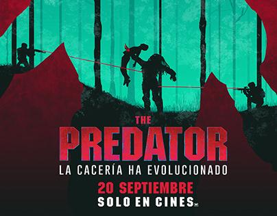 "Poster Design ""Fan Art"" event ,The Predator (2018)"