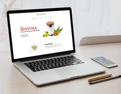Meditation Website Concept