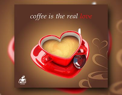 coffee social media designs