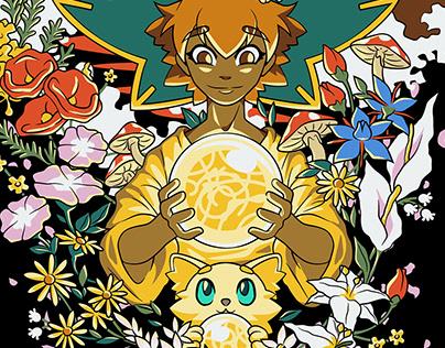 Spirit Flowers - Spiritfarer Fanart