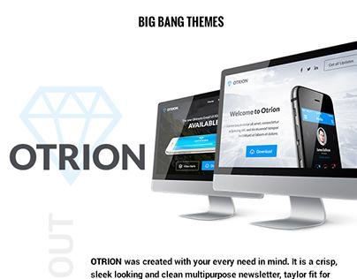 Otrion - Multipurpose Email + Builder Access