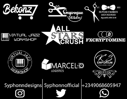 My logo compilation (logofolio vol. 1