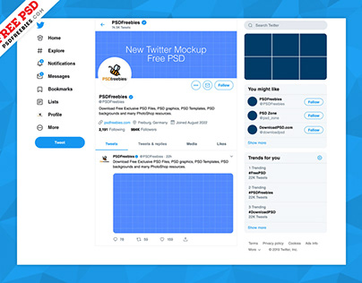 Facebook Page Mockup 2018 Template PSD on Behance