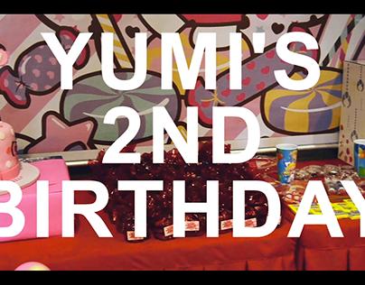 Yumi's 2nd Birthday