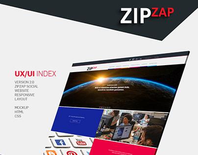 UX/UI WebSite Zipzap V2.0