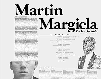 Margiela Poster