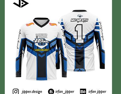 Custom Design White Jersey. Order from Fiverr.