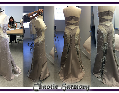 Chaotic Harmony~Technical Design~Evening Gown