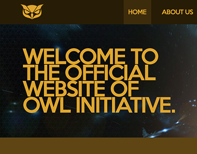 Owl Initiative Gaming Community Webdesign (and more)