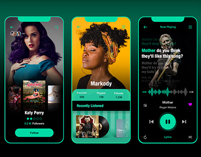 colorful music player 2020