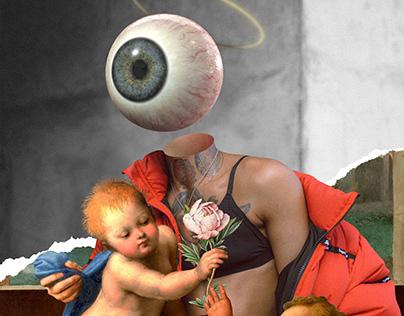 Vanguard Renaissance. Digital collage.