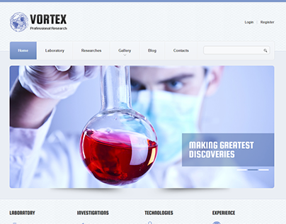 Science Drupal Theme