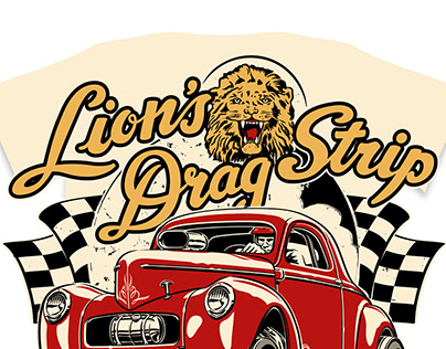 Lost Drag Strips - T-shirt series