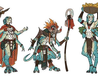 Tribal Alien Race Design
