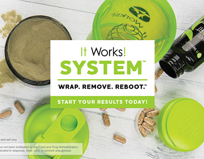 Ad campaign for It Works! System