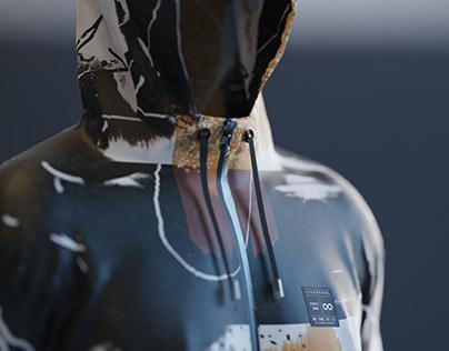 3D FASHION WORK - WINDBREAKER